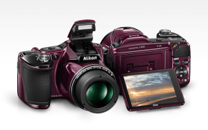 Nikon CoolPix L830 Manual - camera front and back side
