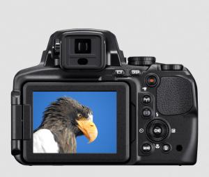 Nikon CoolPix P900 Manual - camera backside