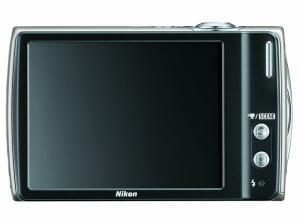 Nikon CoolPix S230 Manual - camera backside