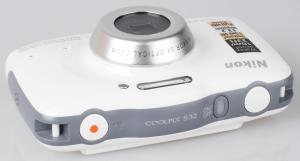 Nikon CoolPix S32 Manual - camera look