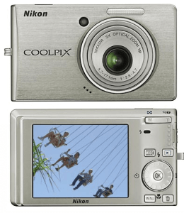 Nikon CoolPix S510 Manual - camera front and back side