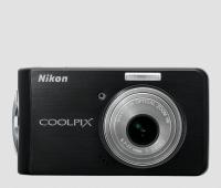 Nikon CoolPix S520 Manual - camera front side