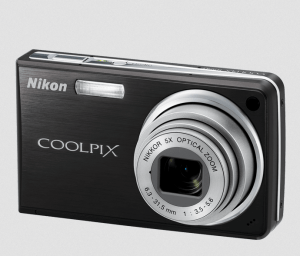 Nikon CoolPix S550 Manual - camera front side