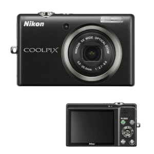Nikon CoolPix S570 Manual - camera front and back side