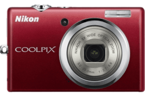 Nikon CoolPix S570 Manual - camera front side
