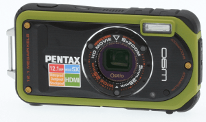 Pentax Optio W90 Manual - camera front face