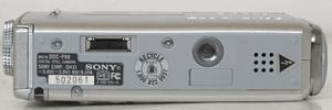 Sony Cyber-Shot DSC-F88 Manual - camera side
