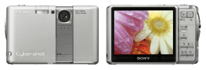 Sony Cyber-Shot DSC-G1 Manual - camera front and back side