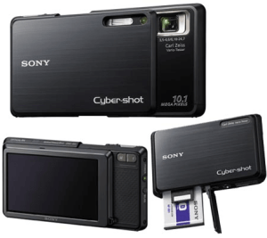 Sony Cyber-Shot DSC-G3 Manual - camera sides