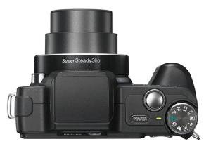 Sony Cyber-Shot DSC-H10 Manual - camera side