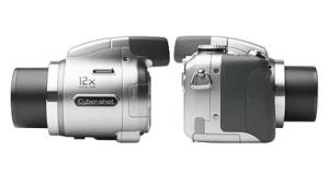 Sony Cyber-Shot DSC-H2 Manual - camera side