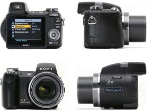 Sony Cyber-Shot DSC-H5 Manual - camera look