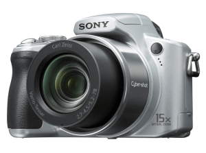 Sony Cyber-Shot DSC-H50 Manual - camera face