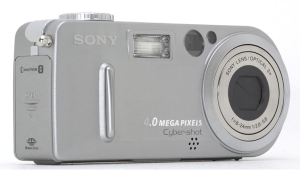 Sony Cyber-Shot DSC-P9 Manual - camera front side