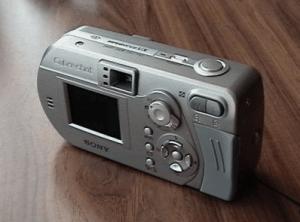 Sony Cyber-Shot DSC-P92 Manual - camera backside