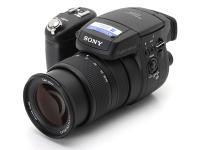 Sony Cyber-Shot DSC-R1 Manual - camera front side