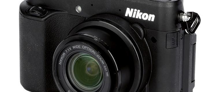 Nikon CoolPix P7800 Manual - camera front face