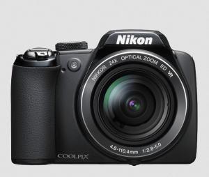 Nikon CoolPix P90 Manual - camera front face