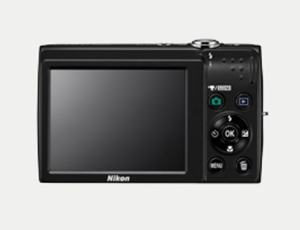 Nikon CoolPix S2500 Manual - camera back side