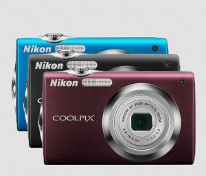 Nikon CoolPix S3000 Manual - camera variant