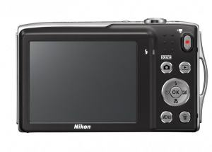 Nikon CoolPix S3300 Manual-camera back side