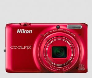 Nikon CoolPix S6500 Manual - camera front side