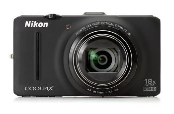 Nikon CoolPix S9300 Manual-camera front face
