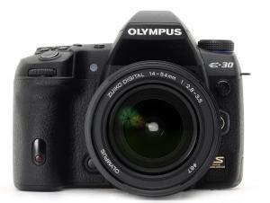 Olympus E-30 Manual - camera front face
