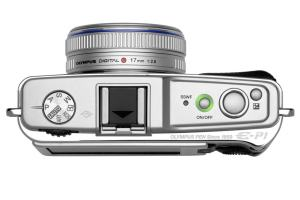 Olympus E-P1 Manual - camera side