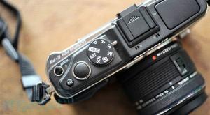 Olympus E-P3 Manual - camera side