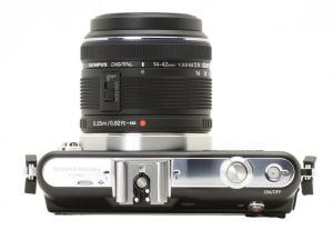 Olympus E-PM1 Manual - camera side