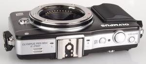 Olympus E-PM2 Manual - camera side