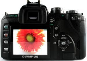 Olympus Evolt E-510 Manual - camera back side
