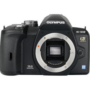 Olympus Evolt E-510 Manual - camera front side