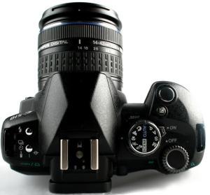 Olympus Evolt E-510 Manual - camera top side