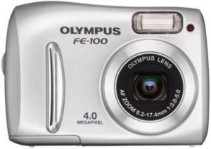 Olympus FE-100 Manual - camera front face