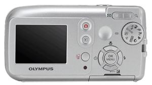 Olympus FE-120 Manual - camera back side