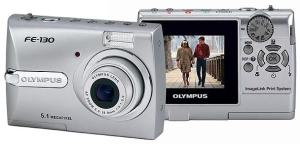 Olympus FE-130 Manual User Guide and Product Specification