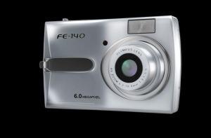 Olympus FE-140 Manual - camera front face