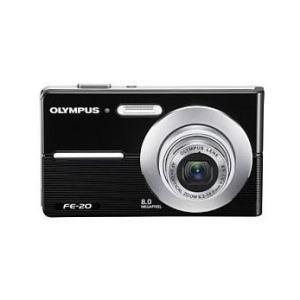 Olympus FE-20 Manual - Camera front face