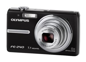Olympus FE-240 Manual - Camera Front Side