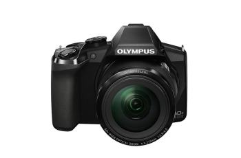 Olympus SP-100 Manual - camera front face