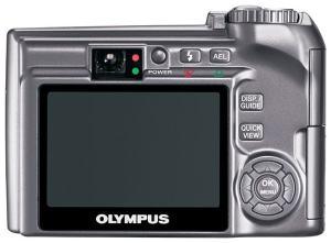 Olympus SP-310 Manual - camera back side