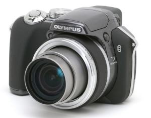 Olympus SP-550 UZ Manual for Olympus Super-Zoom Camera with Ease-of-Control