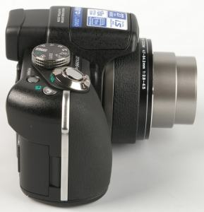 Olympus SP-560 UZ Manual - camera side