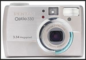 Pentax Optio 330 Manual for Fun and Complete-Packaging Ultra-Compact Camera