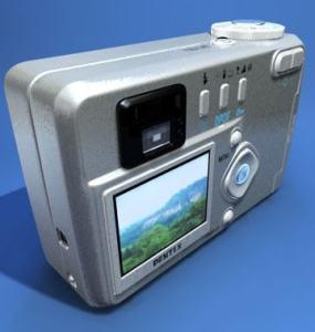 Pentax Optio 430 Manual - camera back side