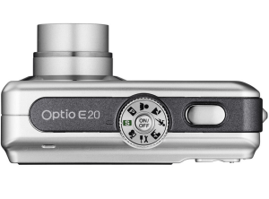 Pentax Optio E20 Manual - camera sides