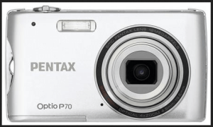Pentax Optio P70 Manual - camera front face