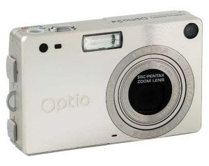 Pentax Optio S4 Manual - camera front face
